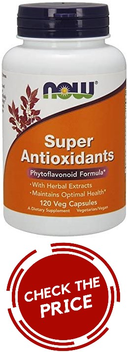 Now Super Antioxidants bottle