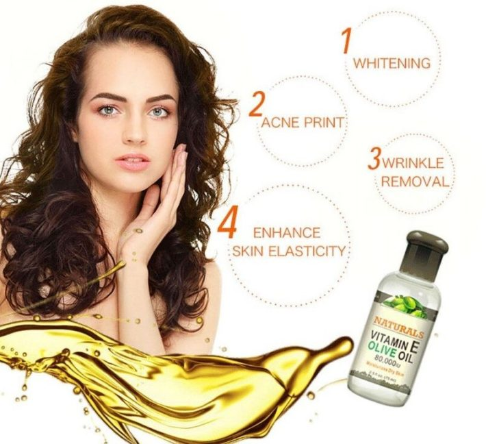 olive oil woman face