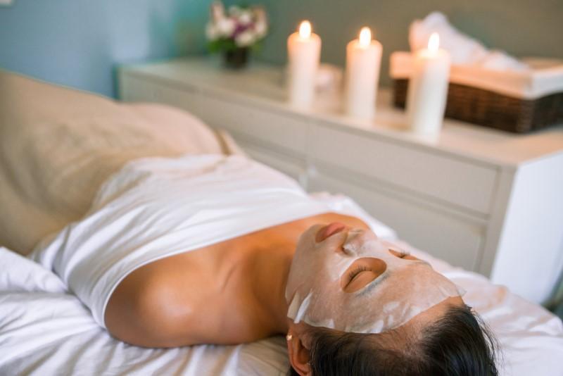 SPA face mask - prioritize exfoliation