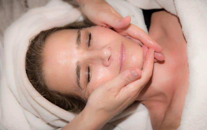 Women receiving a massage in Cheshire