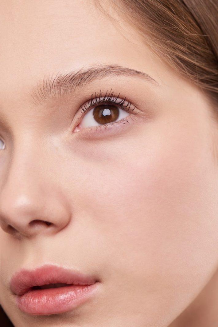 woman face - homemade makeup remover