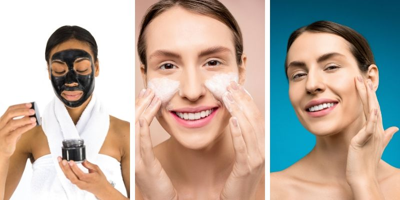 Clogged pores removal methods