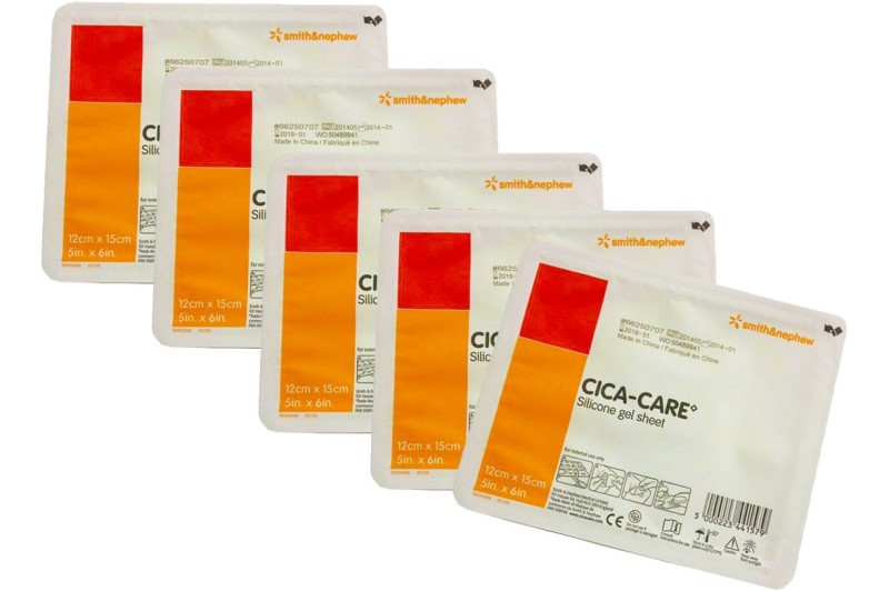 CICA-CARE Silicone gel sheets