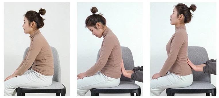 correcting back posture