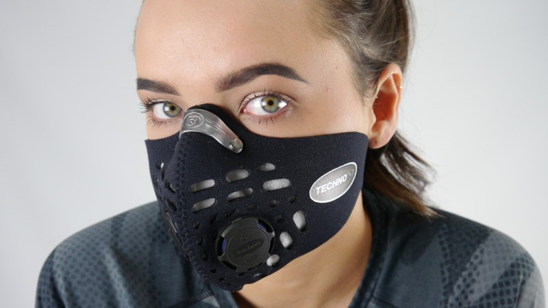 Air pollution face mask
