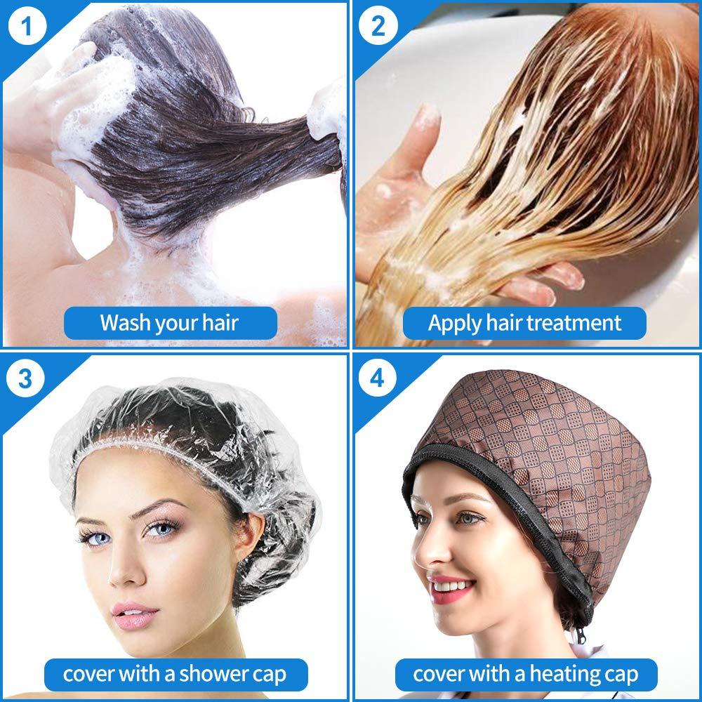 Hair steamer usage