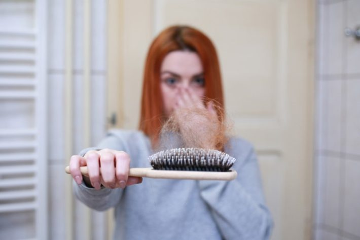 Why does stress cause hair loss