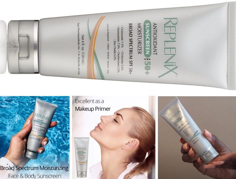 Replenix Antioxidant Sunscreen Moisturizer