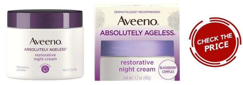 Aveeno Absolutely Ageless Restorative Facial Anti-Aging Night Cream
