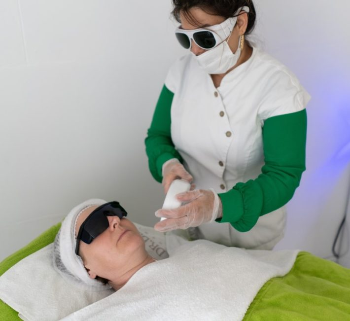 Using a Laser Machine In Hair Removal
