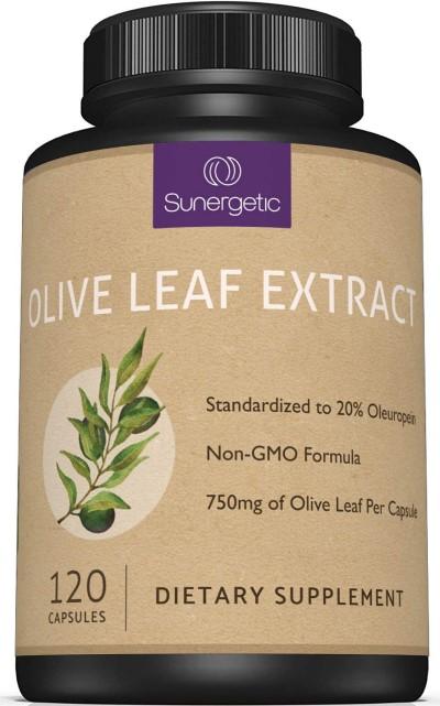 Premium Olive Leaf Extract Capsules Bottle