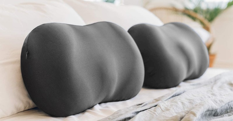 Two Necklow pillows